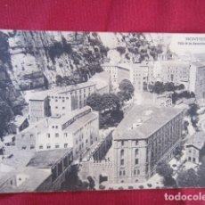 Postales: MONTSERRAT - VISTA DE LOS APOSENTOS Y MONASTERIO. Lote 178688261
