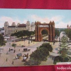 Postales: BARCELONA - ARCO DEL TRIUNFO. Lote 178709188