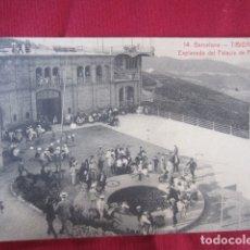 Postales: BARCELONA - TIBIDABO - EXPLANADA DEL PALACIO DE FIESTAS. Lote 178709455