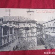 Postales: BARCELONA - AUDIENCIA - DETALLE DEL PATIO DE LOS NARANJOS. Lote 178709556