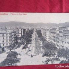 Postales: BARCELONA -PASEO DE SAN JUAN. Lote 178709647