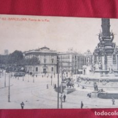 Postales: BARCELONA - PUERTA DE LA PAZ. Lote 178709928