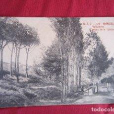 Postales: BARCELONA -VALLVIDRERA - CAMINO DE LA IGLESIA. Lote 178710065