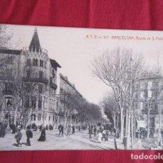 Postales: BARCELONA - RONDA DE S. PEDRO. Lote 178710178