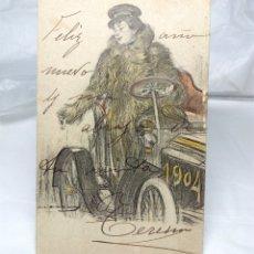Postales: ANTIGUA POSTAL DE 1904 (BARCELONA) - USADA. Lote 178710630