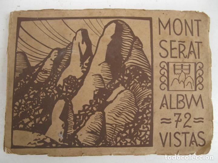 MONTSERRAT - ÁLBUM 72 VISTAS - HUECOGRABADO RIEUSSET (BARCELONA). (Postales - España - Cataluña Antigua (hasta 1939))