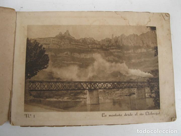 Postales: MONTSERRAT - ÁLBUM 72 VISTAS - HUECOGRABADO RIEUSSET (BARCELONA). - Foto 2 - 178716620