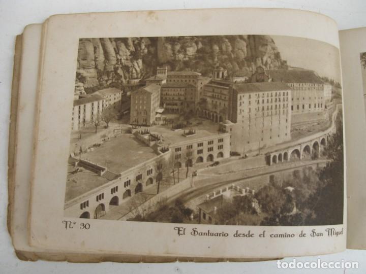 Postales: MONTSERRAT - ÁLBUM 72 VISTAS - HUECOGRABADO RIEUSSET (BARCELONA). - Foto 4 - 178716620