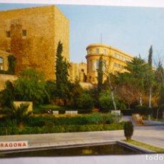 Postales: POSTAL TARRAGONA - GLORIETA CAIDOS Y PALACIO AUGUSTO. Lote 178741856