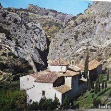 Postales: POSTAL GANDESA .- SANTUARIO NTRA.SRA.FONTCALDA -ESCRITA. Lote 178741992