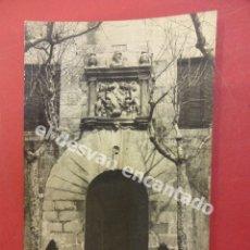 Postales: LLINAS DEL VALLES. ENTRADA DEL CASTILLO. Lote 178778458