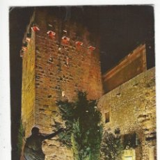 Postales: TARRAGONA - 20 .- TORRE DEL OBISPO. NOCTURNO. Lote 178852731