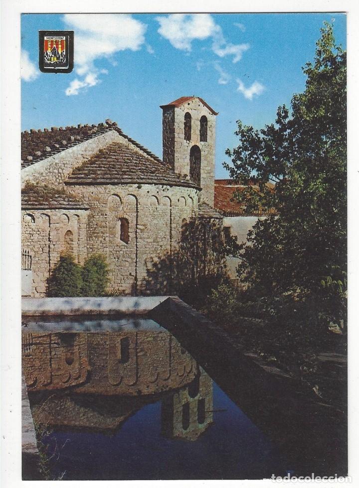 115 - MONTSERRAT.- SANTA CECILIA.- CAPELLA ROMANICA. (Postales - España - Cataluña Moderna (desde 1940))