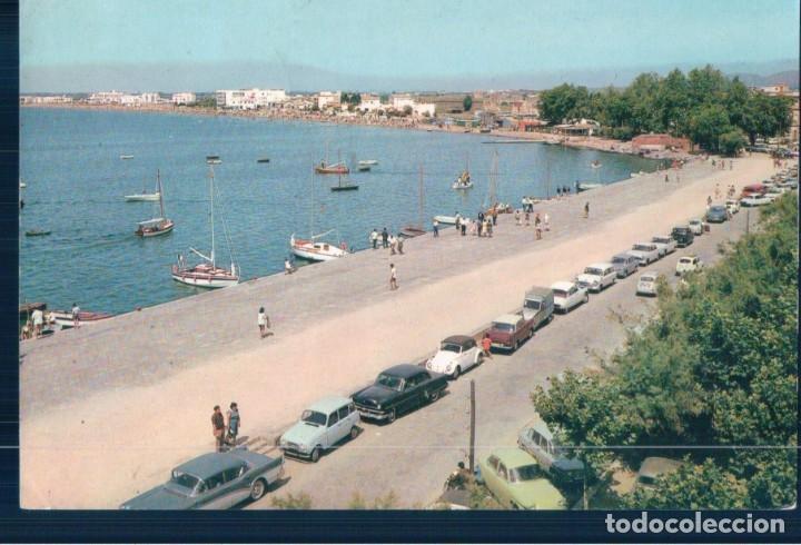 POSTAL ROSAS, BLANCA Y MARINERA VILLA ABIERTA AL MAR, UBACH PUIG 1164 (Postales - España - Cataluña Moderna (desde 1940))