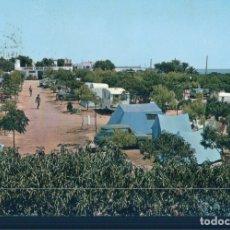 Postales: POSTAL CAMPING CARLOS III - ALCANAR PLAYA - TARRAGONA - 2 CASTELL - HARRIS - CIRCULADA. Lote 178912503