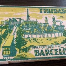 Postales: COLECCIÓN DE 14 POSTALES BARCELONA TIBIDABO Nº 3 FOTÓGRAFO L. RÓISÍN. Lote 178936488