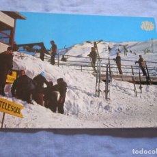 Postales: POSTAL DE BAQUEIRA PISTAS LERIDA. Lote 178937058