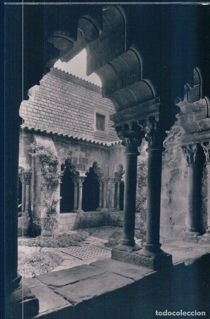 BARCELONA.- CLAUSTRO DEL ANTIGUO MONASTERIA DE SAN PAU DEL CAMP. DETALLE. SIGLO XII. SERIE 1 NUM 49A (Postales - España - Cataluña Antigua (hasta 1939))