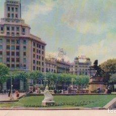 Postales: POSTAL BARCELONA - PLAZA DE CATALUÑA - 22 HELIOTIPIA. Lote 178980746