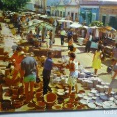 Postales: POSTAL CALELLA .-VISTA DEL MERCADO. Lote 179077026