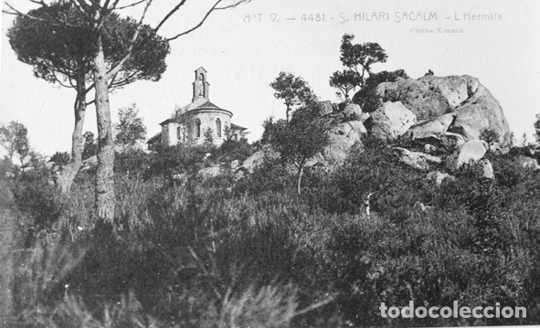 POSTAL A.T.V.4481 SANT HILARISACALM SIN CIRCULAR (Postales - España - Cataluña Antigua (hasta 1939))