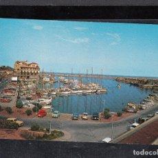 Postales: ARENYS DE MAR. VISTA DEL PUERTO Y CLUB NAUTICO. Lote 179184255