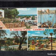 Postales: CAMBRILS - 58 EL DORADO PLAYA. Lote 179186246