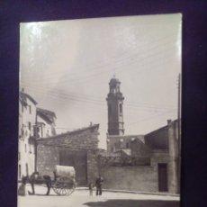 Postales: POSTAL FOTOGRÁFICA CALAF DETALLE FOTO GRAELLS CIRCULADA. Lote 179200762