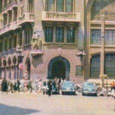 Postales: POSTAL BARCELONA OFICINAS CENTRALES CAJA DE PENSIONES PARA VEJEZ Y AHORROS VIA LAYETANA. Lote 179202138