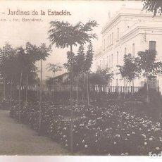 Postales: POSTAL SITGES - JARDINES DE LA ESTACIÓN .. Lote 179317422