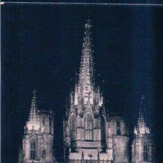 Postales: POSTAL BARCELONA - CATEDRAL DE NOCHE 583 ZERKOWITZ - CIRCULADA. Lote 179325713