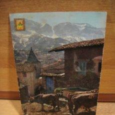 Postales: QUERFORADAT , LERIDA - POSTAL CIRCILADA , SIN SELLO . ED. ESCUDO DE ORO. Lote 179327535