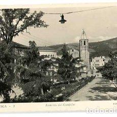 Postales: BARCELONA LA GARRIGA AVENIDA DEL CAUDILLO ED. IGLESIAS. POSTAL FOTOGRÁFICA, CIRCULADA. Lote 179329996