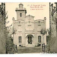 Postales: BARCELONA SAN CUGAT DEL VALLES TORRE DEL SR. MIR. L. ROISIN, FOT. SIN CIRCULAR. Lote 179330178