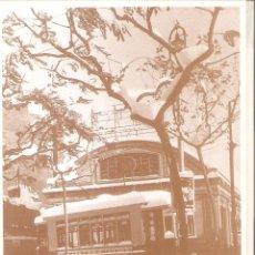 Postales: BARCELONA, ANTIGA ESTACIÓ DE SANTS, EN LA NEVADA DE 1962, PLAÇA SALVADOR ANGLADA , SIN CIRCULAR. Lote 179330676
