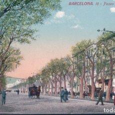 Postales: POSTAL DE BARCELONA PASEO DE GRACIA Nº 18 EDITÓ JORGE VENINI . Lote 179331596