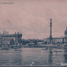 Postales: POSTAL BARCELONA - DESEMBARCADERO - CIRCULADA SIN SELLO. Lote 179379527