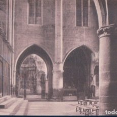 Postales: POSTAL CASTELLO D'EMPURIES - ESGLESIA DE STA MARIA - EL CREUER - THOMAS. Lote 179386543