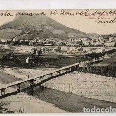 Postales: BARCELONA MONCADA PUENTE DEL BESOS. L. ROISIN, FOT. CIRCULADA. Lote 179530137