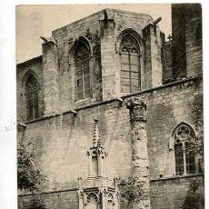 Postales: BARCELONA FUENTE PLAZA DEL REY Y COLUMNA. ED. LL. SIN CIRCULAR. Lote 179537720