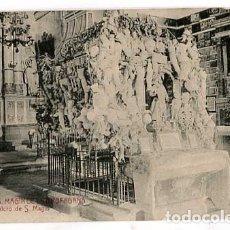 Postales: TARRAGONA S. MAGIN DE LA BRUFAGAÑA SEPULCRO DE S. MAGIN ATV ANGEL TOLDRA VIAZO 3399. SIN CIRCULAR. Lote 179538088