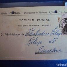 Postales: (PS-61887)POSTAL DE REUS-GONAN.DISTRIBUCION DE EDICIONES. Lote 180007308