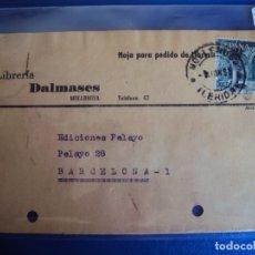 Postales: (PS-61885)POSTAL DE MOLLERUSA-LIBRERIA DALMASES. Lote 180007482