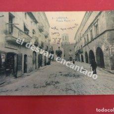 Postales: LIÑYOLA. PLASSA MAJOR. Lote 180007687