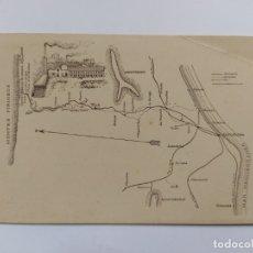 Postales: SANT JOAN DE LES ABADESSES-FABRICA RAMON BENET CEMENTOS SURROCA-PUBLICITARIA-VER REVERSO-(63.249). Lote 180031702