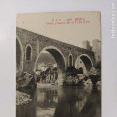 Postales: BESALU-ORILLAS Y PUENTE DEL RIO FLUVIA-ATV 4392-VER REVERSO-(63.084). Lote 180033027