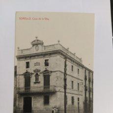 Postales: TORELLO-CASA DE LA VILA-JOSEPH MADIROLAS-VER REVERSO-(63.254). Lote 180033980