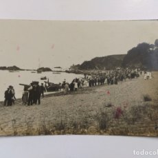 Postales: LLORET DE MAR-24 JULIO 1914-POSTAL FOTOGRAFICA SELLO EN SECO J.PONS-VER REVERSO-(63.264). Lote 180034850