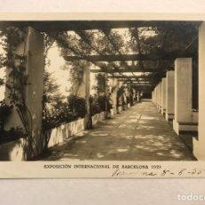 Postales: BARCELONA. EXPOSICIÓN INTERNACIONAL DE 1929. POSTAL NO.3, LA ROSALEDA. EDITA: GRÁFICAS E.J.B.. Lote 180036285