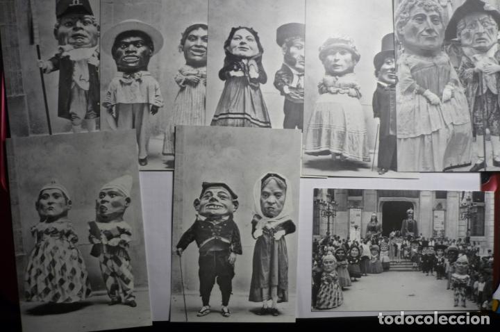 LOTE POSTALES EDIC.MODERNA MOTIVO 150 AÑOS CABEZUDOS TARRAGONA-EDITA AYUNTAMIENTO (Postales - España - Cataluña Moderna (desde 1940))